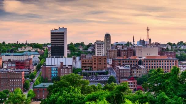 Skyline di Lynchburg, Virginia