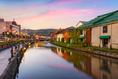 Canals of Otaru Japan
