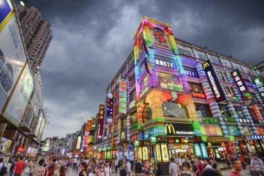 Guangzhou, China Shopping Street