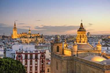 Seville, Spain City Skyline