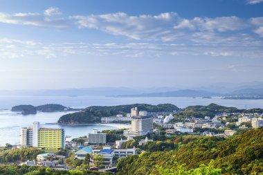 Shirahama, Japan Beachfront Skyline