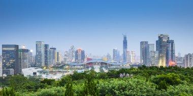 Shenzhen, China City Skyline.
