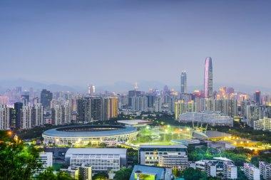 Shenzhen, China City Skyline