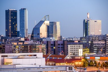 Tallinn, Estonia Modern SKyline