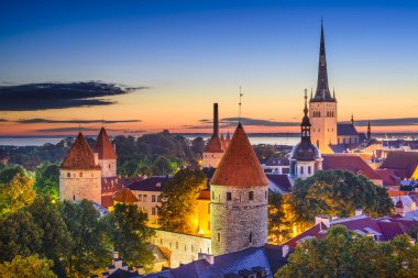 Tallinn Estonia Old City