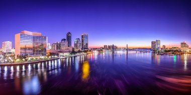 Jacksonville, Florida City Panorama