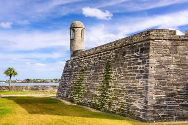Fort in St. Augustine, Florida