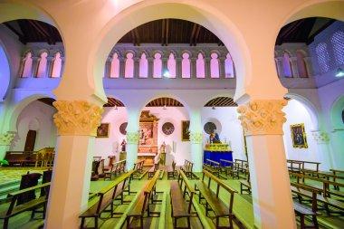 Ancient Synagogue Interior
