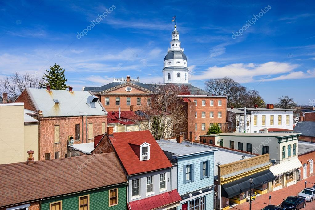 Annapolis Maryland Cityscape
