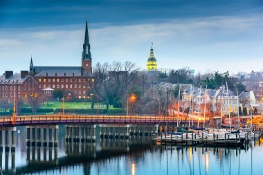 Annapolis Maryland on the Chesapeake Bay