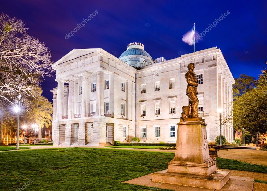 ノースカロライナ州会議事堂 — ...