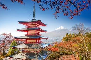 "Картина, постер, плакат, фотообои ""Пагода и Mt. Fuji."", артикул 71962255"