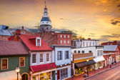 Centru města Annapolis, Maryland