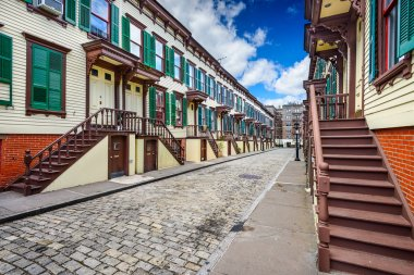 Historic New York City Rowhouses