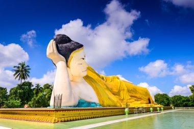 Bago Myanmar Reclining Buddha