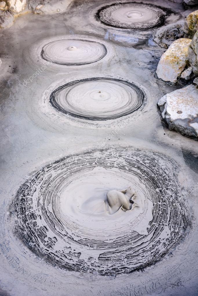 Boiling Hot Springs of Beppu Japan