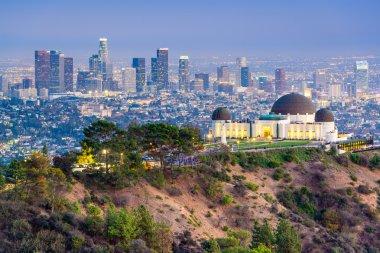 Griffith Park LA Skyline