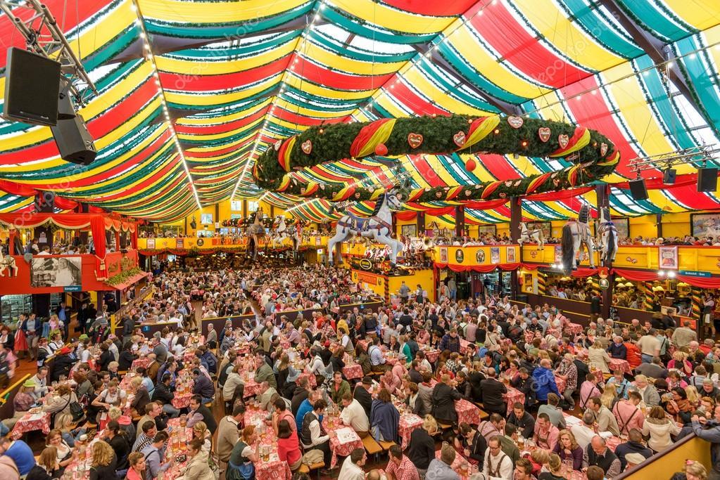 Oktoberfest Beer Tent u2014 Stock Photo & Oktoberfest Beer Tent u2013 Stock Editorial Photo © sepavone #98619704
