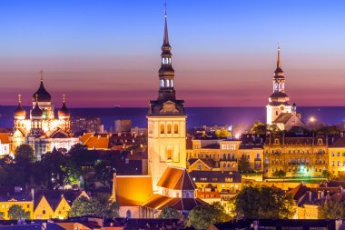 Tallinn Estonia Twilight