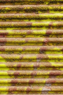 old corrugated sheet