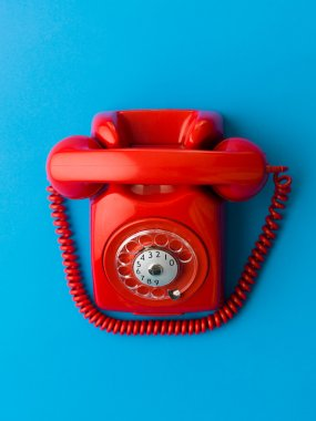 shiny new red phone