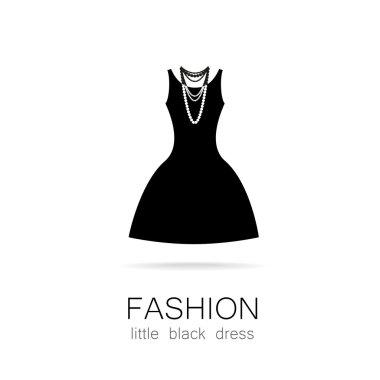 fashion little black dress template