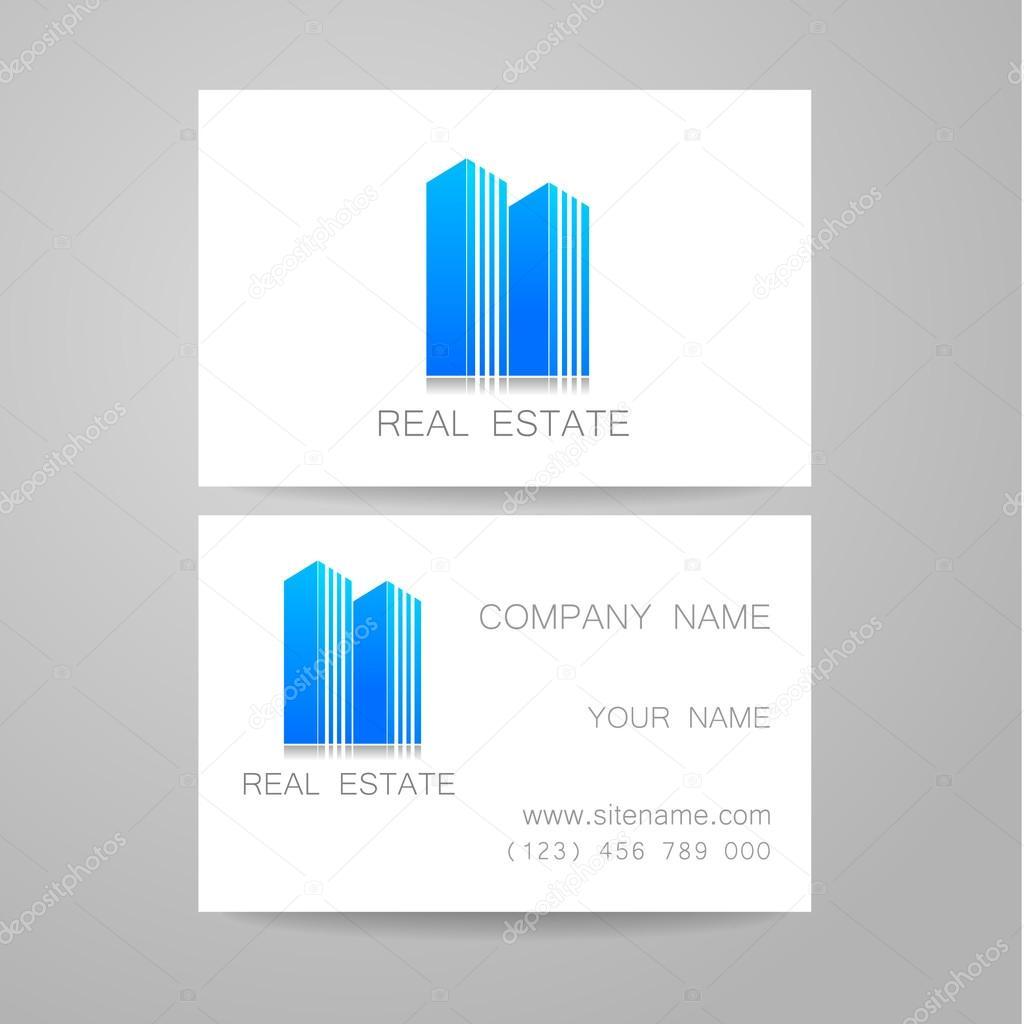 real estate business card — Stock Vector © antoshkaforever #82472680