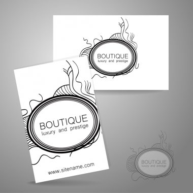 Boutique luxury prestige logo