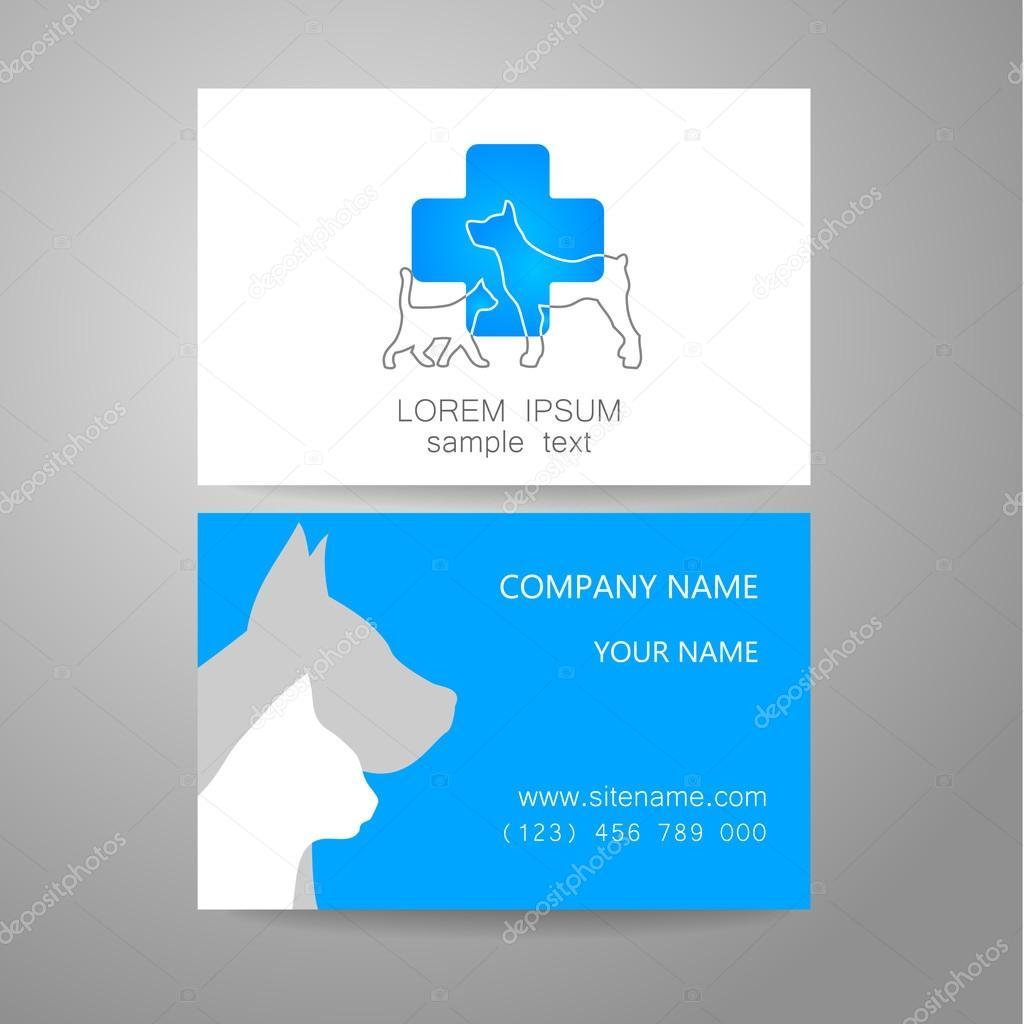 veterinary medicine logo template — Stock Vector © antoshkaforever ...