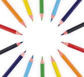 multi-színes ceruzák