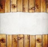 Fotografia Bordo di tavole di legno