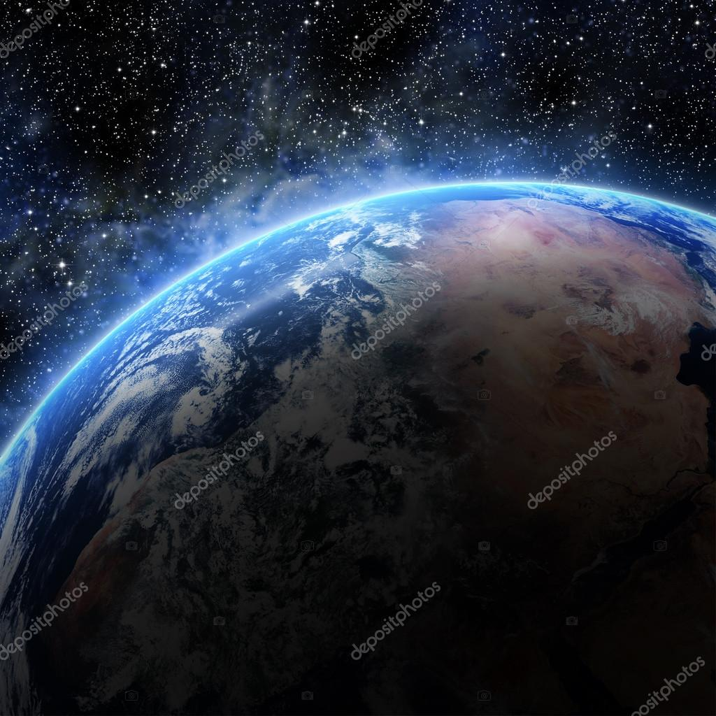Earth. View from space