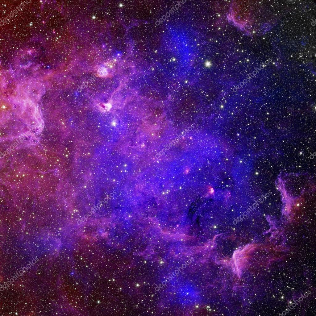 Galaxy Stars Pattern Stock Photo Image By