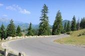 Strada di montagna della Romania