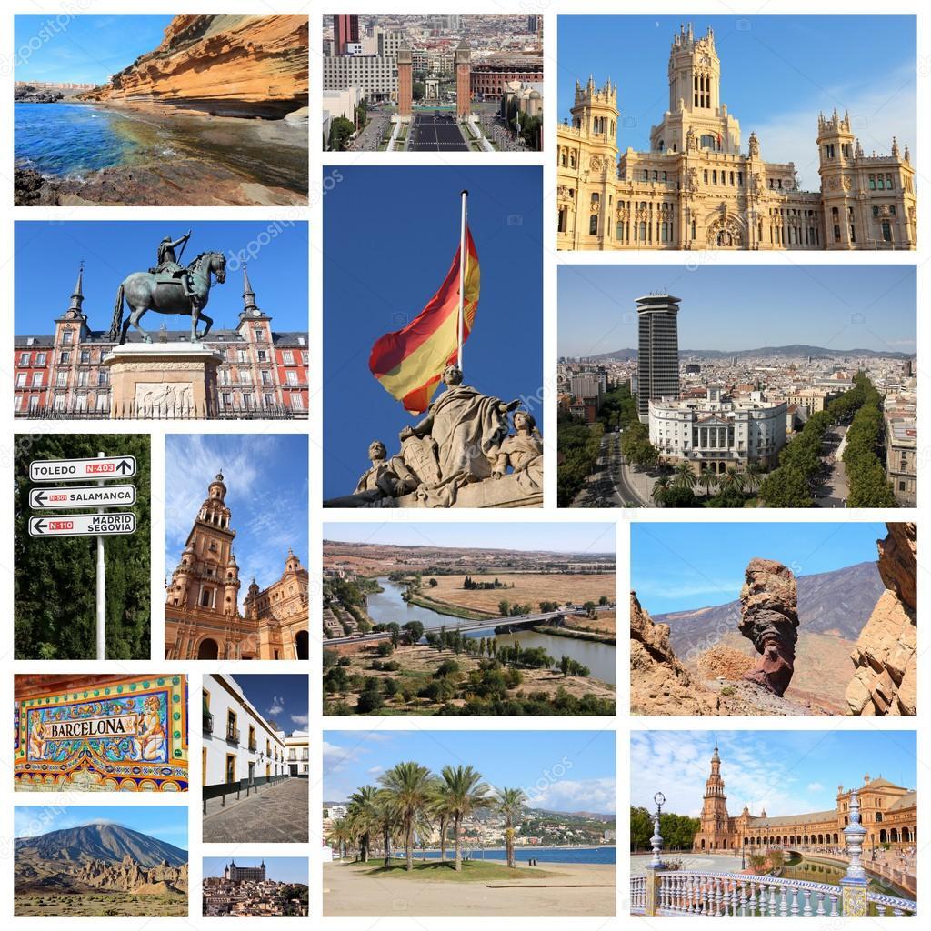 スペインの写真 旅行のコラージュ ストック写真 tupungato 122642436