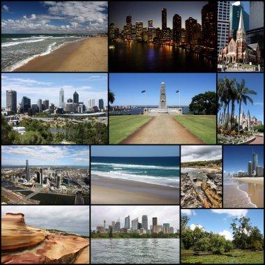 Australia - travel collage