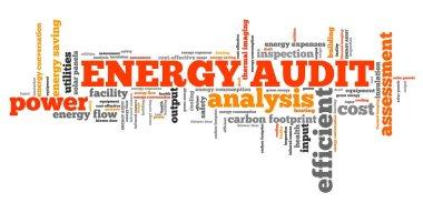Energy audit word cloud