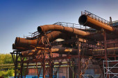 Bochum. Industrielles Erbe des Ruhrgebiets. Ehemaliges Kraftwerk - Westpark-Areal.