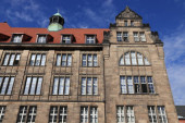 Chemnitz. Sachsen in Deutschland. Neumarkt - Neues Rathaus).