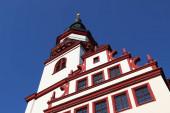 Chemnitz (Sachsen). Wahrzeichen Neumarkt - Altes Rathaus).