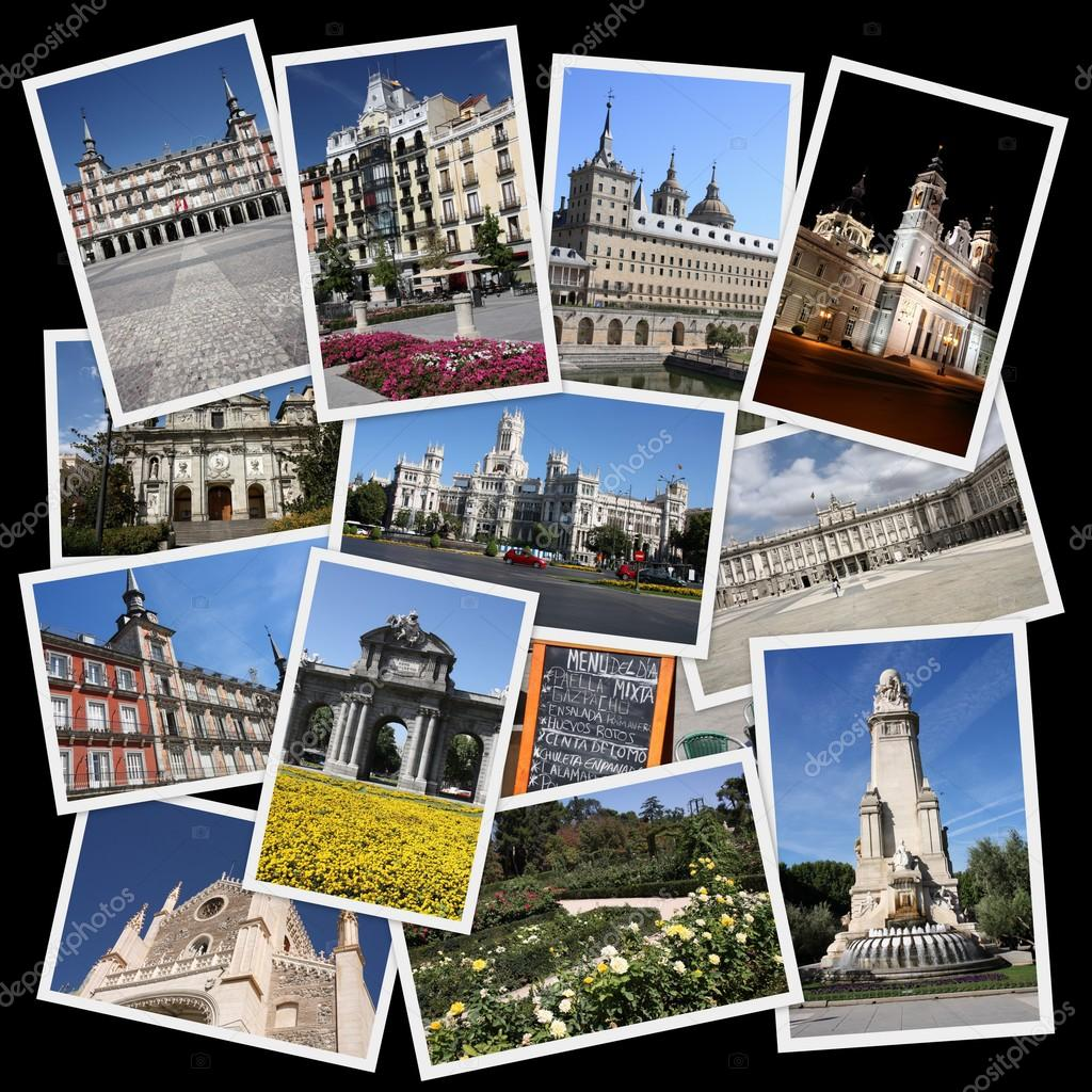 collage de madrid fotos de stock tupungato 61554603. Black Bedroom Furniture Sets. Home Design Ideas