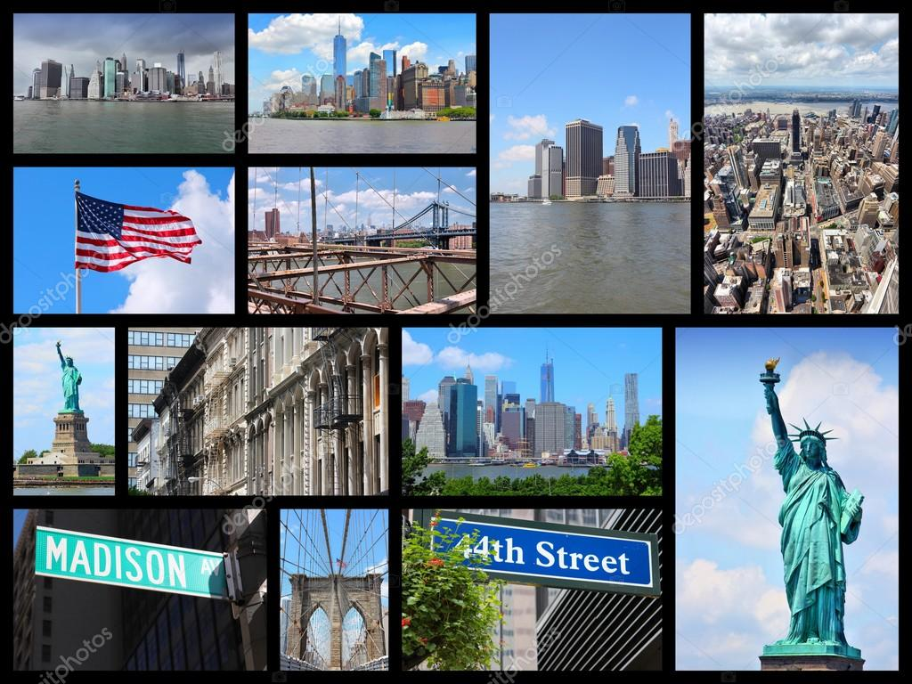 Carte Postale New York.Carte Postale De New York City Photographie Tupungato