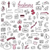 Doodle business vector