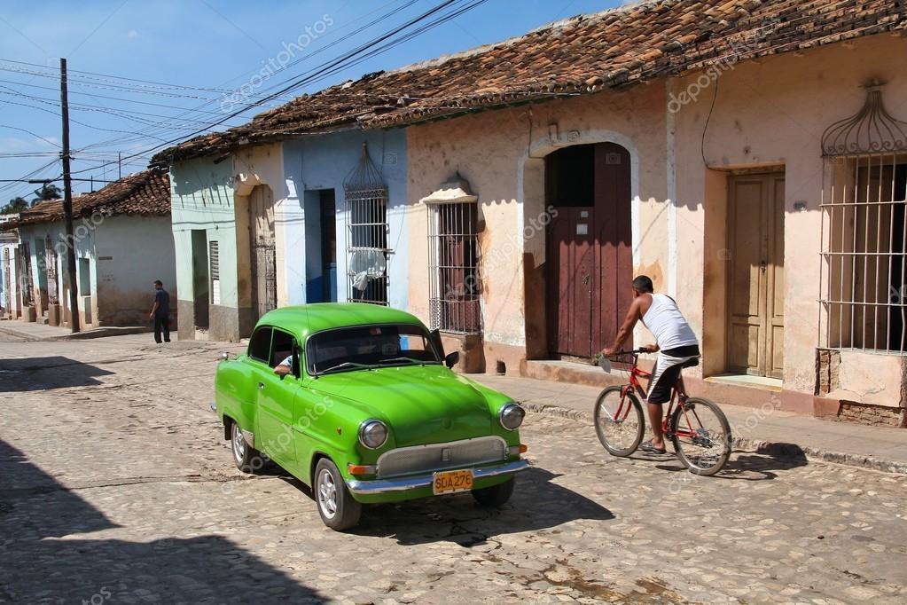 Trinidad, Cuba - old car – Stock Editorial Photo © tupungato #88683544