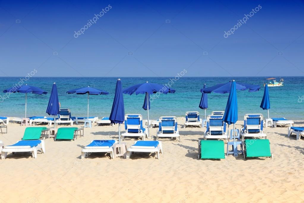 Cypern Beach Makronissos Stockfotografi Tupungato 98214614