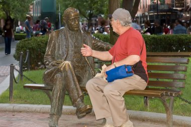 conversation between seniors