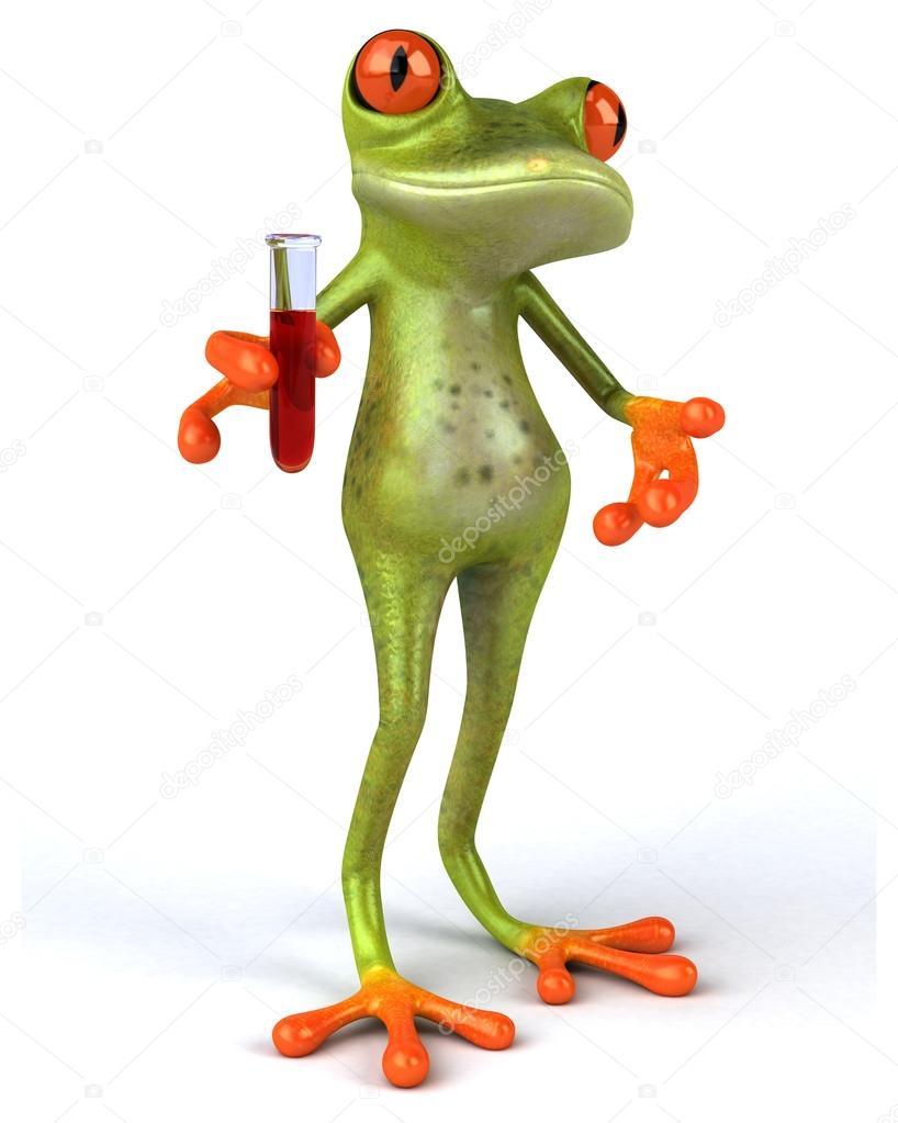 Spaß Cartoon Frosch Stockfoto Julos 106012032