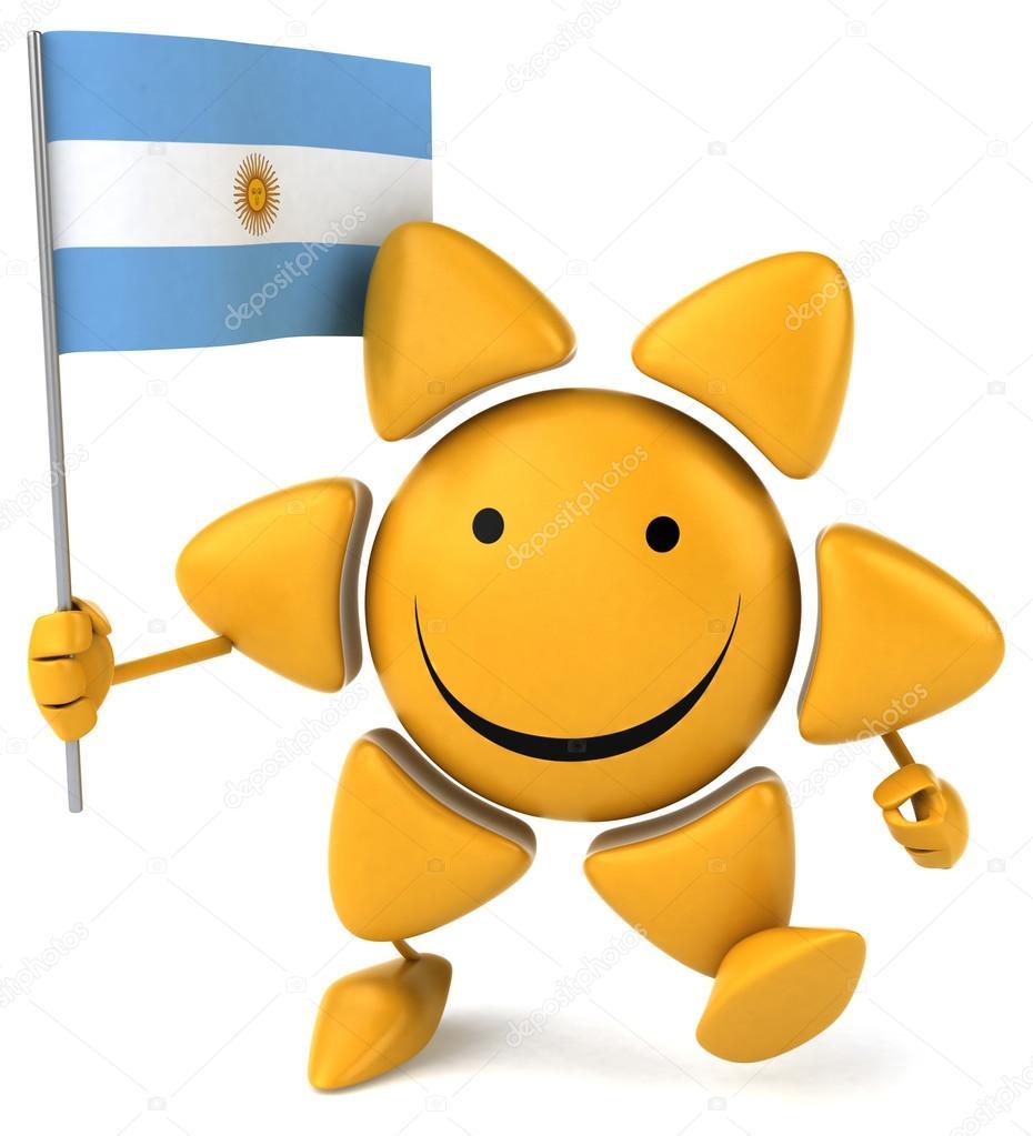 Imágenes Bandera Argentina Animada Divertidos Dibujos