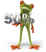 Žába s 50 procent
