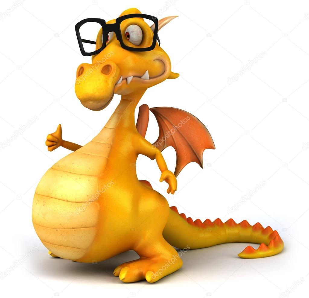 дракон в очках картинки мировую известность, очевидно